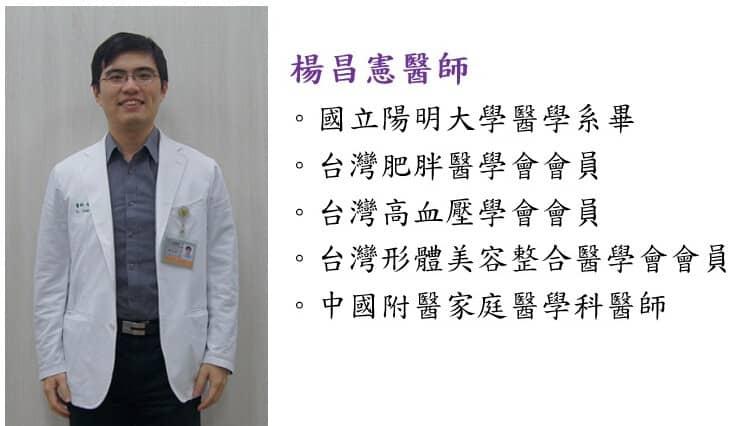 Dr Yang的健康減脂諮詢園地