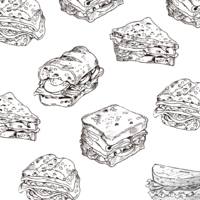 三明治自己來:給你麵包,讓你製作屬於自己的三明治。
