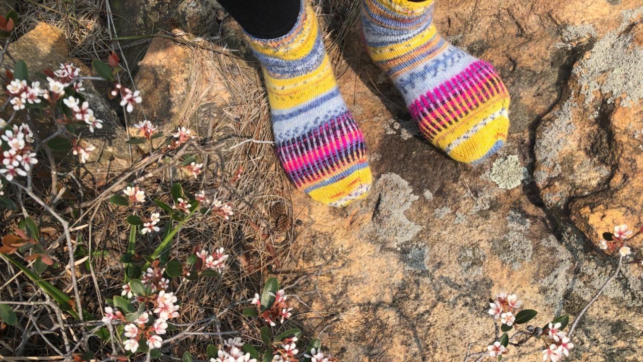 襪子基礎編織英文