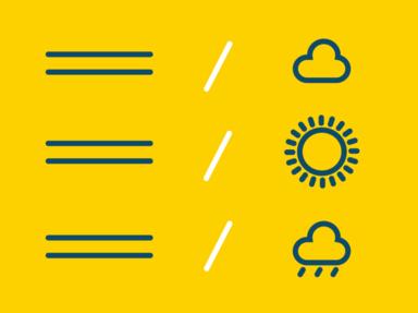 傳統氣象報告VS即時雨訊文