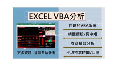 選股篇-獨創EXCEL分析/選股/回測