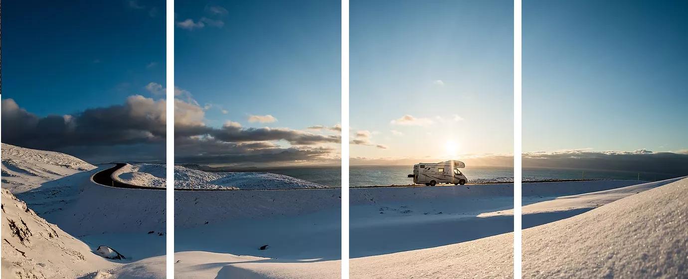 冰島露營車自駕八天七夜用三萬二環島 (英國出發)